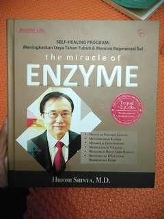 Buku best seller dunia kesehatan The miracle of enzyme