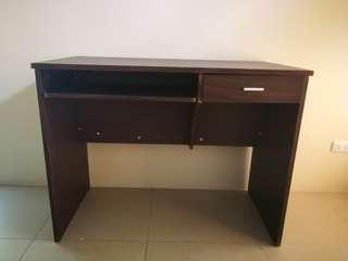 Office Table Classic Dark Brown