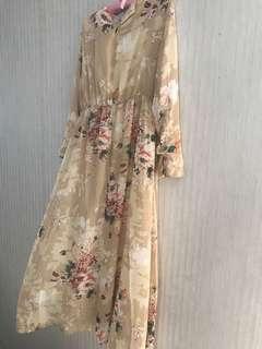Poplook maxi floral dress