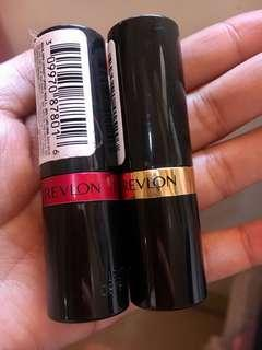 Revlon lipstick bundle