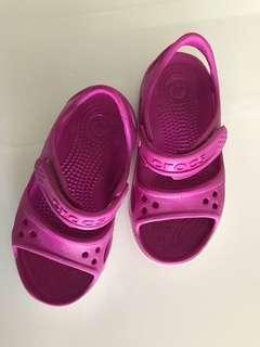 Pink Rubber Sandal
