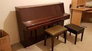 Upright Schonberg piano