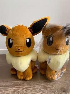 Original japan eevee big Pokémon plush toy