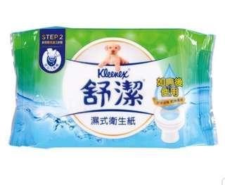 🚚 舒潔 濕式衛生紙 40抽 補充包×7包