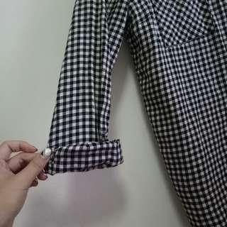 H&m tartan top