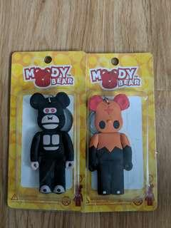 🚚 MoodyBear Keychain