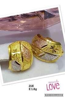 21k saudi gold