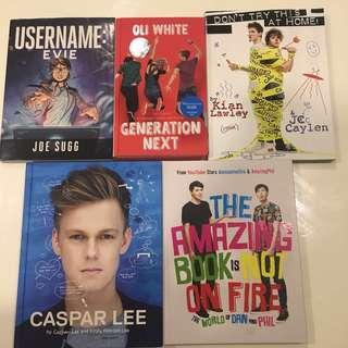 Youtuber books for sale