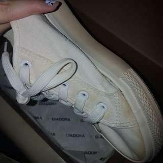 New Look White Sneakers Sepatu Putih Double Sole Sol Tebel Tebal