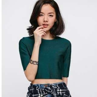 Love Bonito Araya Knit Crop Top