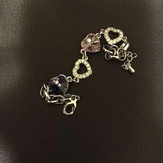 Cute Purple Heart bracelet