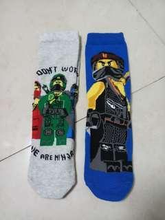 BN Lego Ninjago socks