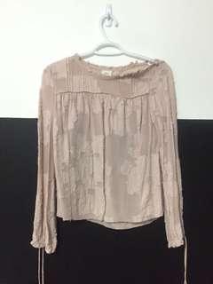 Aritzia wilfred lourdes blouse