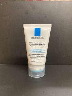 La Roche Posay soothing repairing 24hr deodorant cream