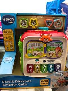 🚚 VTech Baby Sort & Discover Activity Cube