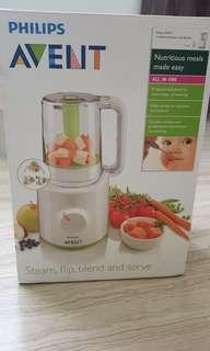 Philips combined steamer and blender