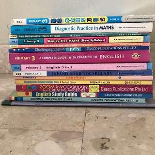 Assorted Primary 3 assessment books