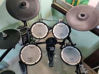 Roland 電子鼓 TD-9 + pearl bass drum 腳踏
