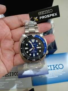 Seiko Prospex SRPC25K1 Turtle Batman Dial Deep Blue Brand New Garansi Resmi