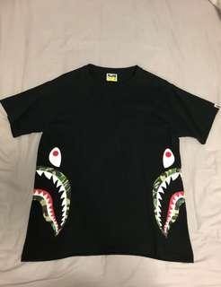 "Bape Side Shark ABC Camo. Size ""M"""