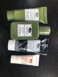 Origins skin care sample set
