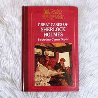 Hardbound   Great Cases Of Sherlock Holmes Sir Arthur Conan Doyle