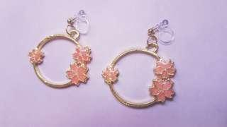 🚚 SPRING/VALENTINES DAY CHERRY BLOSSOM EARRINGS