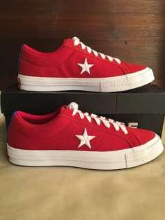 Converse One Star Gym Red