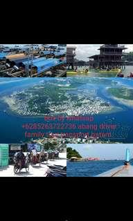 Call/whatsapp +6285263722736 private driver family tour transport batam