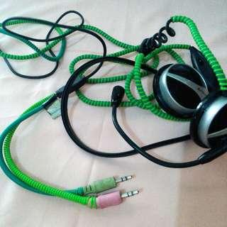 A4TECH Headphone with Mic for Laptop