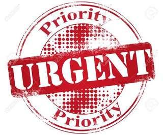 Urgent Need Money?(Buy With Urgent Price Only)