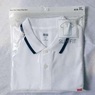 Uniqlo Men's Pique Short Sleeve Polo Shirt