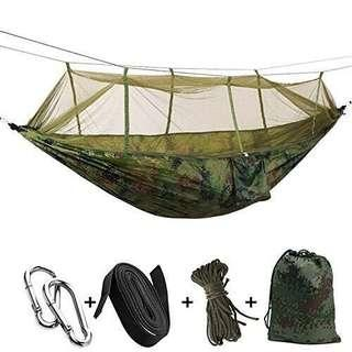 Single-person Hammock Hanging Portable Fabric Mosquito Outdoor