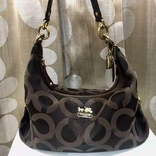 Original Coach Shoulder Handbag