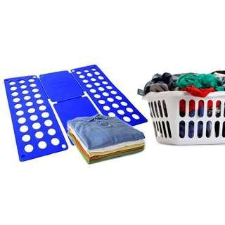 Flip and fold laundry butler clothes folder