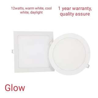 LED downlight ceiling light 12W square/round