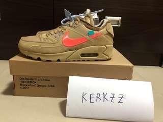 Off White Nike Air Max 90 Desert Ore