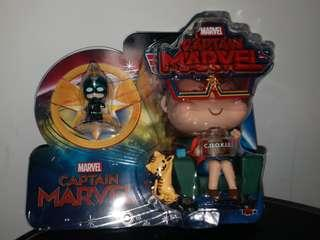 Hot Toys Cosbaby Movbi and Captain Marvel VIP Christmas gift 2018