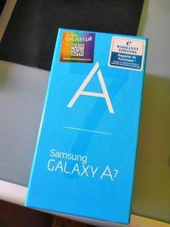 Samsung Galaxy A7, box only
