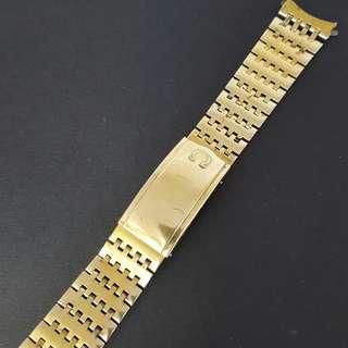 Omega Gold Plated Vintage Bracelet
