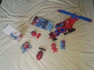 Spiderman lot toy sale