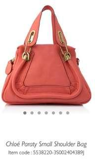 Chloe Paraty Small Shoulder Bag
