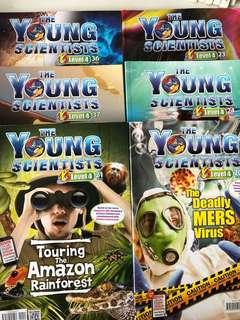 Young Scientists Level 4 (various editions)
