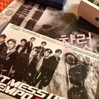 EXO Posters (Folded)