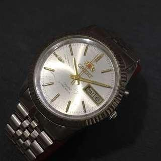 Vintage Orient Crystal Watch