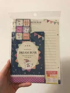 Letter Set from Daiso