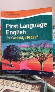 IGCSE English First Language by Jane Arredondo (Oxford & Cambridge )