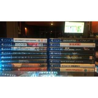 PS4 USED GAMES ACE COMBAT AND MANY MORE