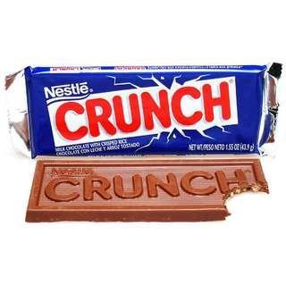 🚚 CRUNCH 🍫Nestlé Milk Chocolate 雀巢脆米粒牛奶🥛巧克力