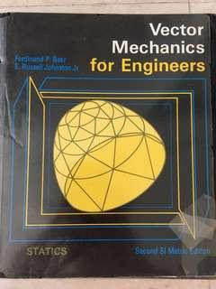 Engineering Textbook - Vector Mechanics For Engineers (Statics)